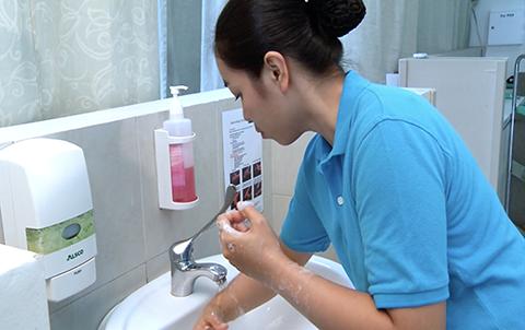7 Steps to Hand Hygiene -AIC